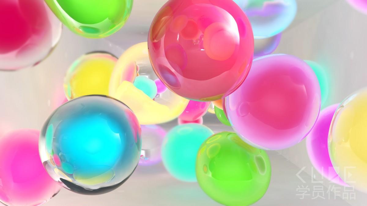 RealFlow柔体小球动画—唐鸿鹄